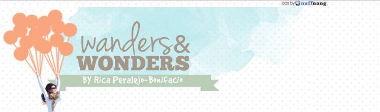 Wonders & Wanders