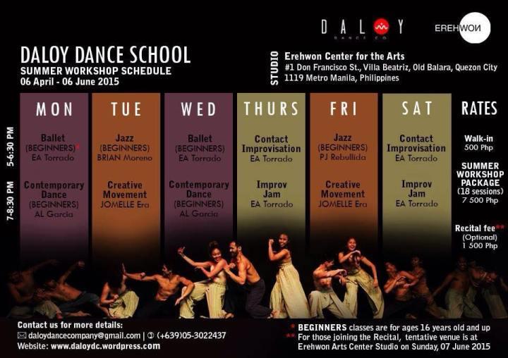(7) Summer Workshop Schedule