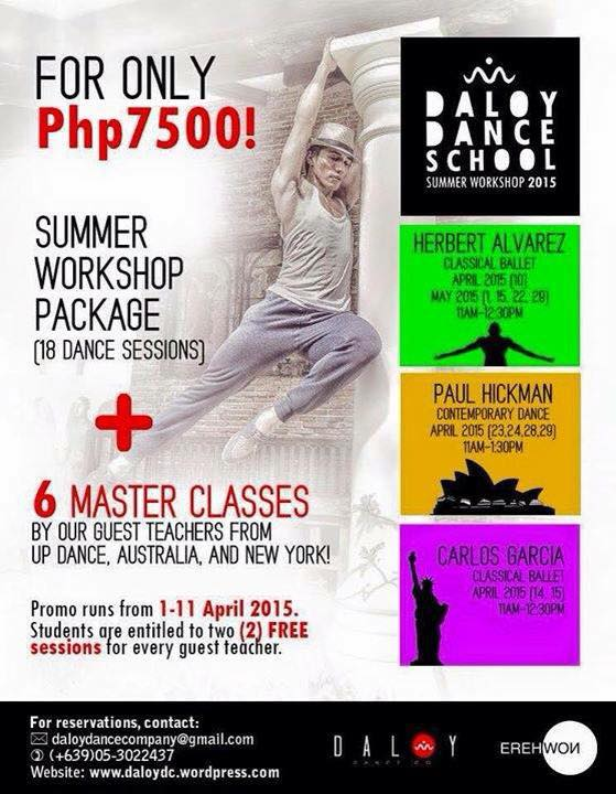 (8) Summer Workshop Package