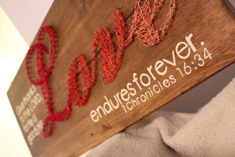 His love endures forever. 1 Chronicles 16:34